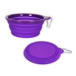 Pet Food Collapsible Travel Bowl