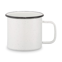 Speckled Enamel Metal Cup (16 oz)