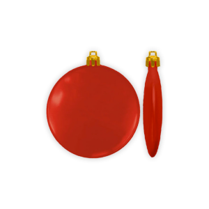 Flat Holiday Ornament