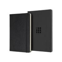 Moleskine Leather Ruled Large Notebook  (5″ x 8.25″)