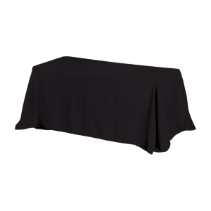 6′ Table Throw Style 4-Sided Table Cover