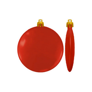 Flat Holiday Ornament