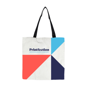 Custom Dye-Sublimated Cotton Tote