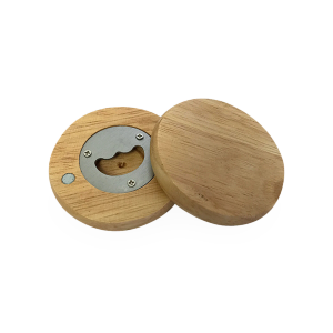 Wooden Magnetic Bottle Opener