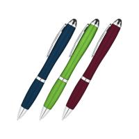 Metallic Curvaceous Ballpoint Stylus Pen