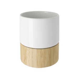 Ceramic and Bamboo Mug (8 oz)