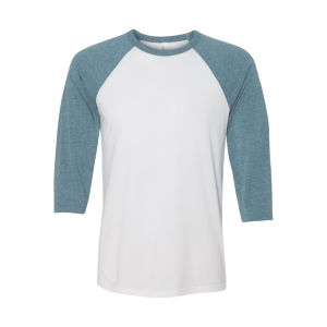 Bella + Canvas Unisex 3/4 Sleeve Baseball T-Shirt