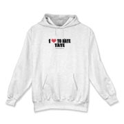 I Love To Hate Tate Hooded Sweatshirt
