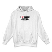 I Love To Hate Justina Hooded Sweatshirt