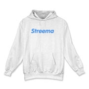 Hooded Sweatshirt: Logo on Front