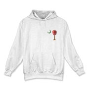 Especially for teachers, the School Apple Palmetto Moon Hooded Sweatshirt features a smaller version of the South Carolina palmetto with an apple and chalkboard moon.