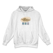 The Nerdy Distance Between Us Hooded Sweatshirt