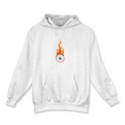 Flaming eye Hooded Sweatshirt