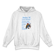 Cross Checking Hooded Sweatshirt