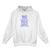 Cake Eater Hooded Sweatshirt