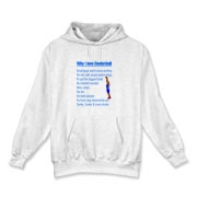Why I Love Basketball Hooded Sweatshirt