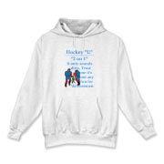 2 on 1 Hooded Sweatshirt