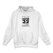 Chapter 32 Movie Poster Hooded Sweatshirt
