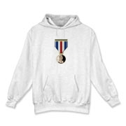 Pennies For Heroes Medal Hooded Sweatshirt