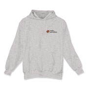 Hooded Sweatshirt, White or Gray