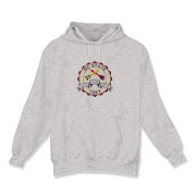 Hooded Sweatshirt – Non Linea Avid Graphic in the center