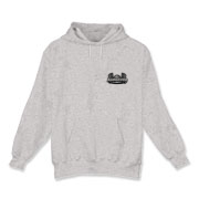 AC Grey Logo Hooded Sweatshirt