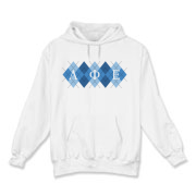 Argyle - Hooded Sweatshirt