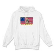 Don't Tread on me- Revolutionary Hooded Sweatshirt