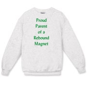 Parent of Rebound Magnet Crewneck Sweatshirt