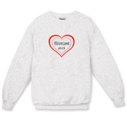 You are Loved, long sleeved sweat shirt.