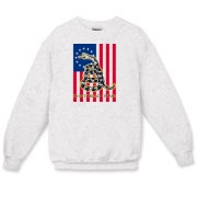 Don't Tread on Me- Revoultion (vertical) Crewneck