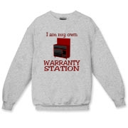 Warranty Station  Crewneck Sweatshirt