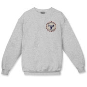 Crewneck Sweatshirt – Lift Team Graphic in the upper left