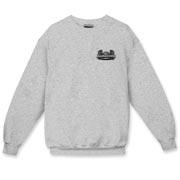 AC Grey Logo Crewneck Sweatshirt