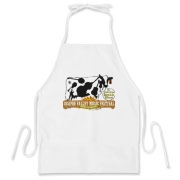 The Ossipee Valley Music Festival Acoustic Cow BBQ Apron