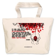 If I Die... Jumbo Tote Bag
