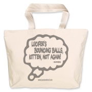 Lucifer's Bouncing Balls Jumbo Tote Bag