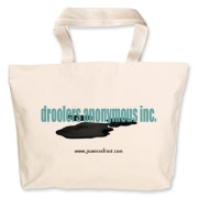 Droolers Anonymous Inc. Jumbo Tote Bag