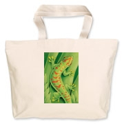 Day Gecko Jumbo Tote Bag