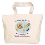 Don't Lose Your Head Jumbo Tote Bag