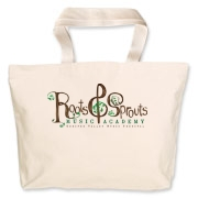 Roots & Sprouts Jumbo Tote Bag