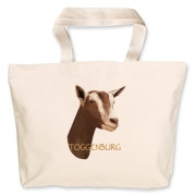 High quality drawing of a Toggenburg Dairy goat on a great product