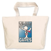 INWAP Games Logo Accessories Jumbo Tote Bag