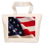OLD GLORY -  Jumbo Tote Bag