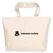 Nonsense Society [light] Jumbo Tote Bag