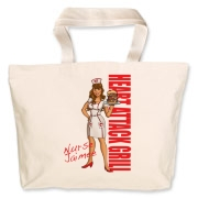 Nurse Jaimee Jumbo Tote Bag