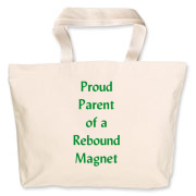 Parent of Rebound Magnet Jumbo Tote Bag