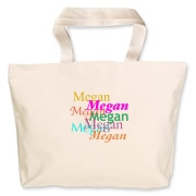 Email mkfcox@casscomm.com with the name you wish to have on your tote and we will make it available for you to order.