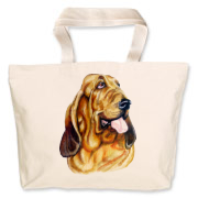 Blood Hound Jumbo Tote Bag