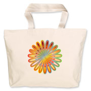 Bright and colorful abstract flower, sets up summer mood and looks really stylish on products.